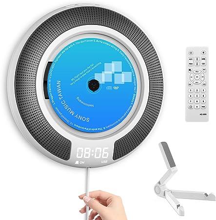 Portable Cd Player Desk Wall Mount Bluetooth Player Elektronik