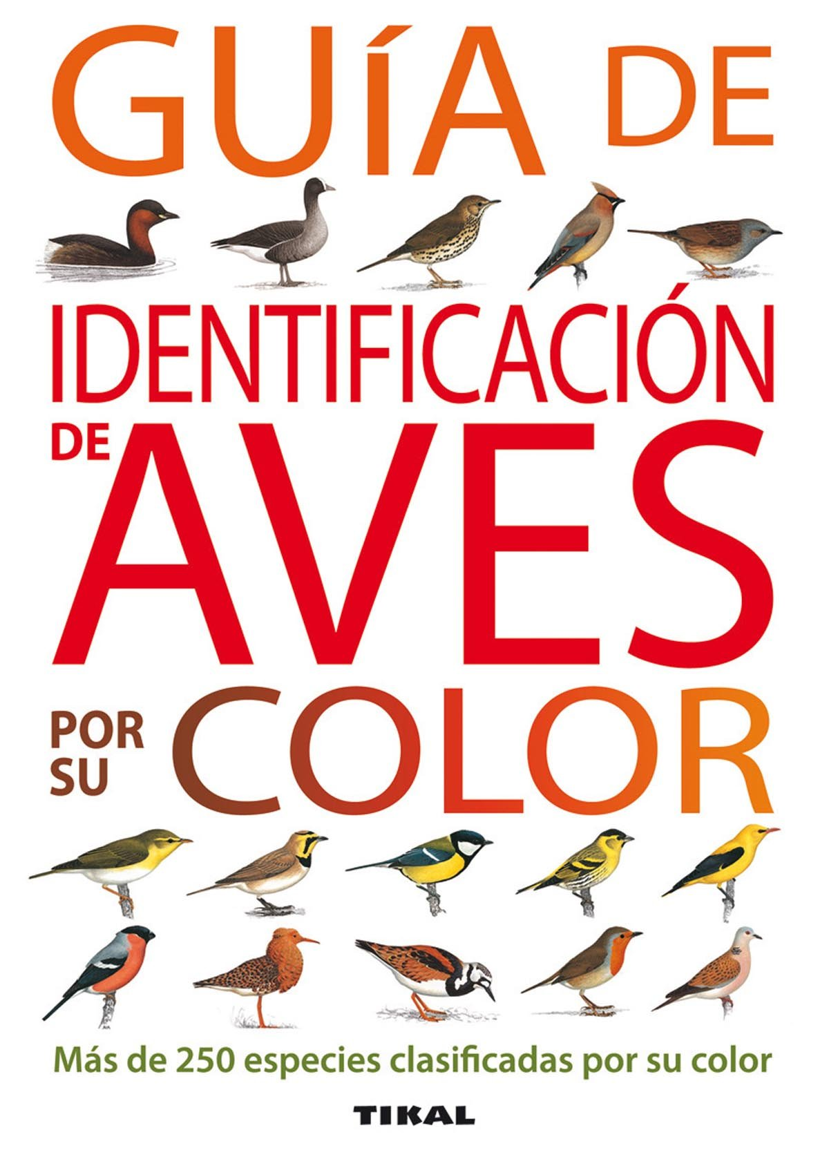 Guia De Identificacion De Aves Por Su Color Guías Practicas ...