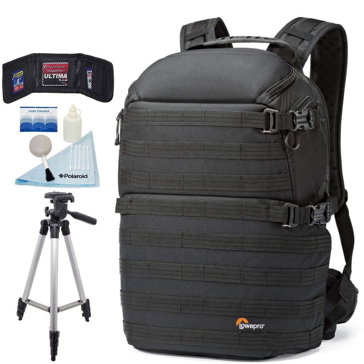 Lowepro ProTactic 450 AWフォトバックパック - カメラギア、ドローン、ノートパソコン、タブレット、その他の備品を無料三脚で保護するプロフェッショナルな保護   B07K8S3KM4