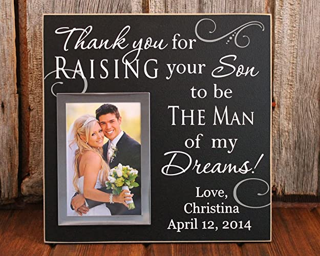 Amazon.com: 12x12, Thank you for raising the man of my dreams ...