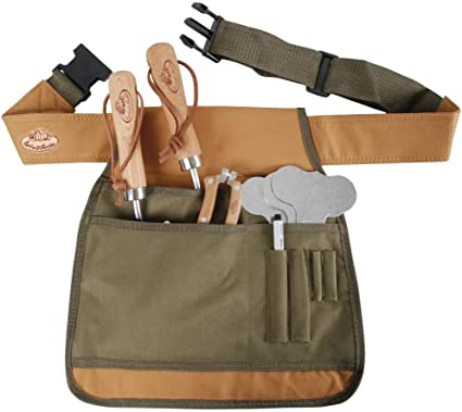 Esschert Design Giardino Cintura degli attrezzi-Verde
