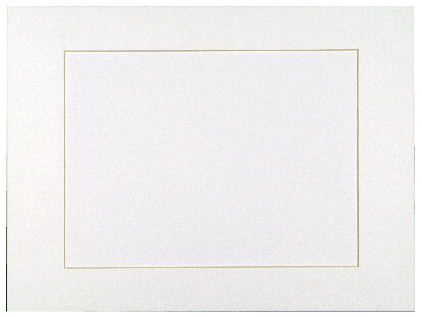 Sax Acid-Free Premium Smooth Surfaced Pre-Cut Mat, Bright White, Pack - 10   B0044SETDS