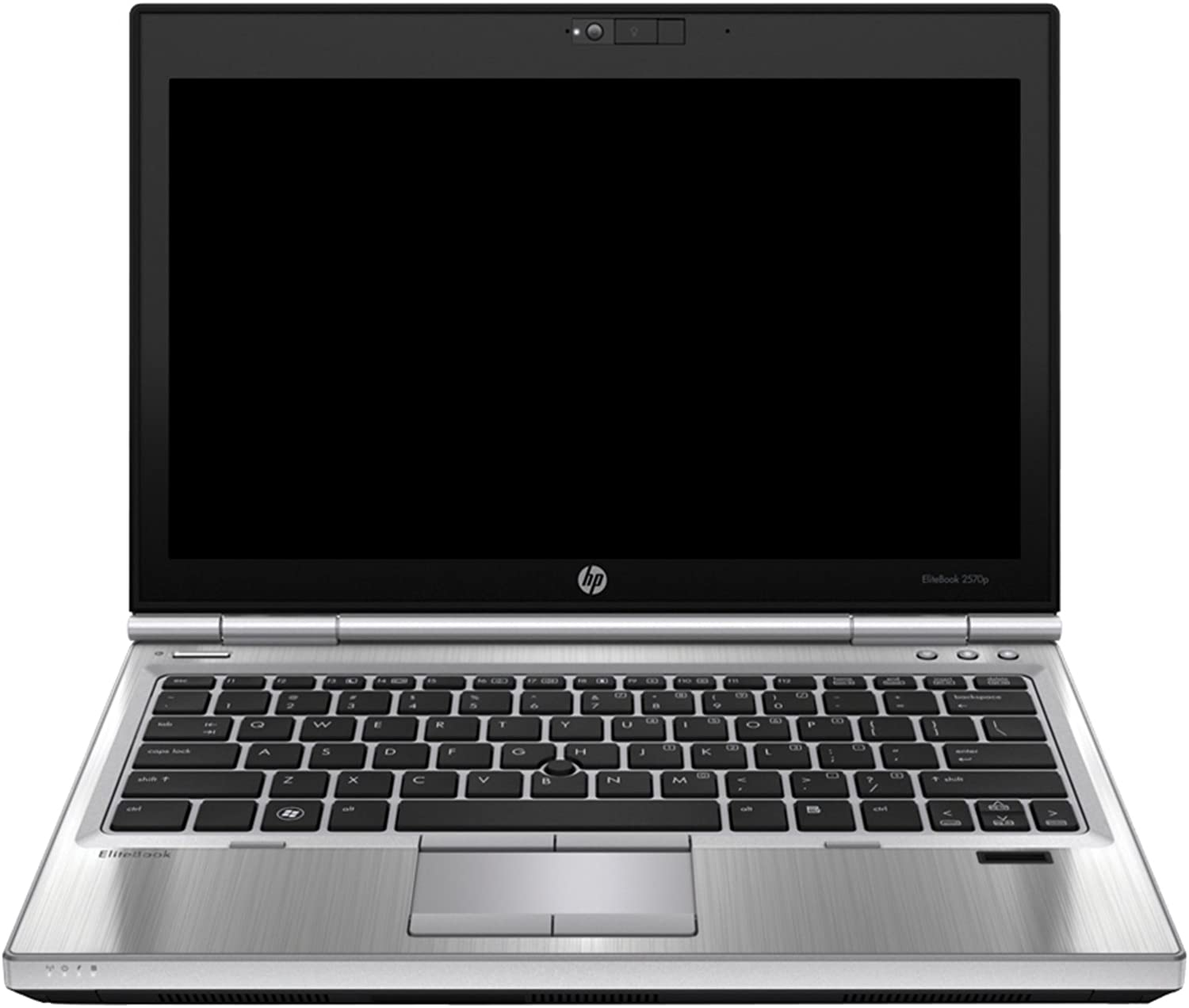 HP EliteBook 2570p 12in Notebook PC - Intel Core i5-3320M 2.6GHz 8GB 250GB Windows 10 Professional (Renewed)