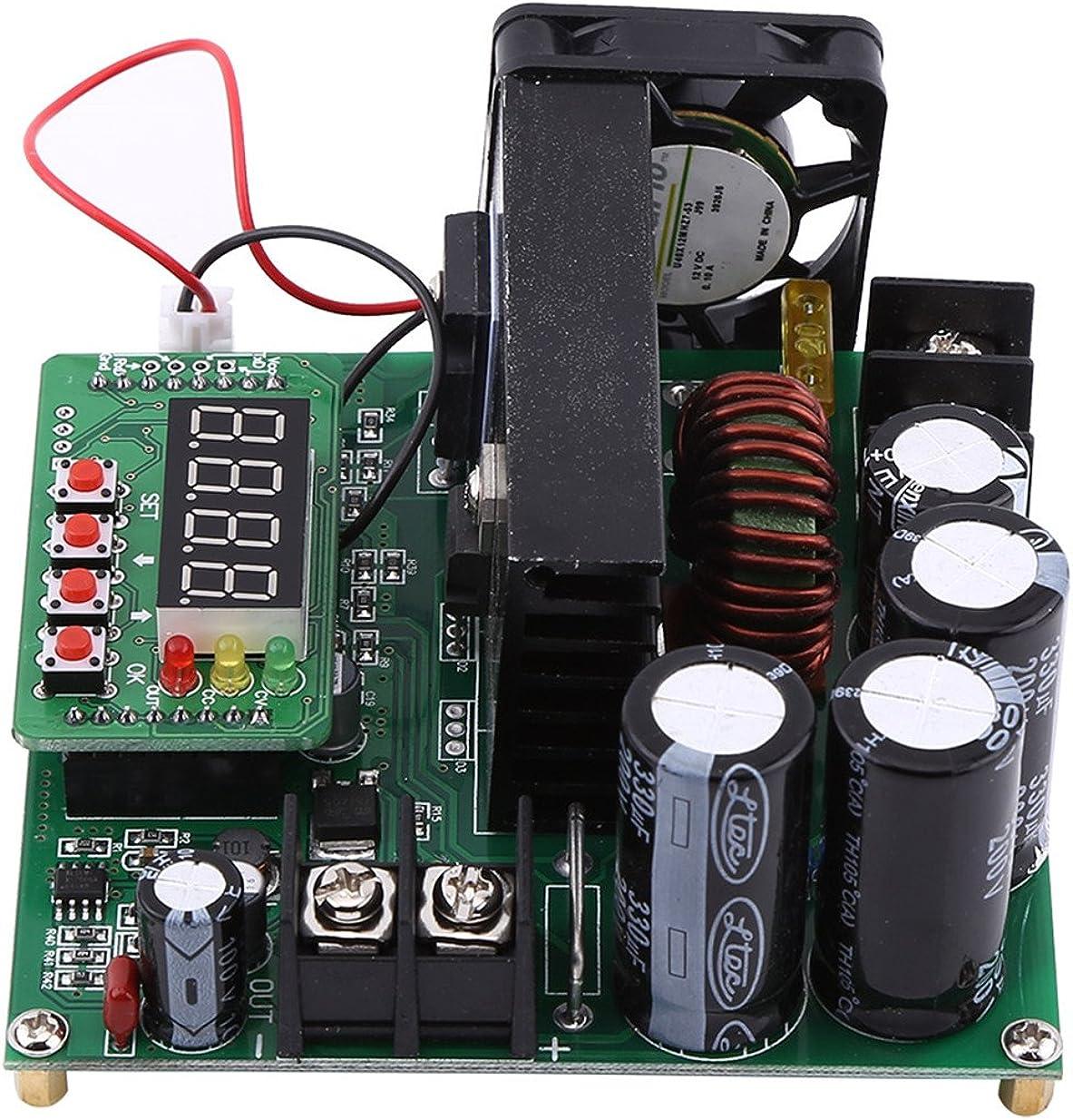 900W DC Haute Pr/écision Boost Convertisseur Step Up Convertisseur de Tension DIY Tension Step Up Module R/égulateur Convertisseur Boost