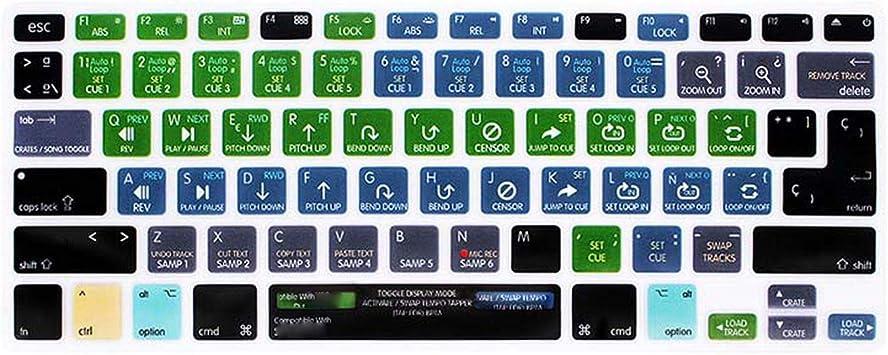 Funda de Teclado para MacBook Pro A1278 Air 13 de Goma Talla ...