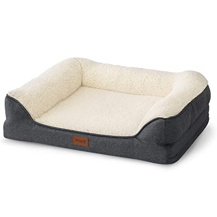 Pleasant Petsure 28 36 45 Orthopedic Memory Foam Dog Bed For Small Medium Large Dogs Pets Bolster Couch Extra Large Dog Beds Washable With Removable Inzonedesignstudio Interior Chair Design Inzonedesignstudiocom