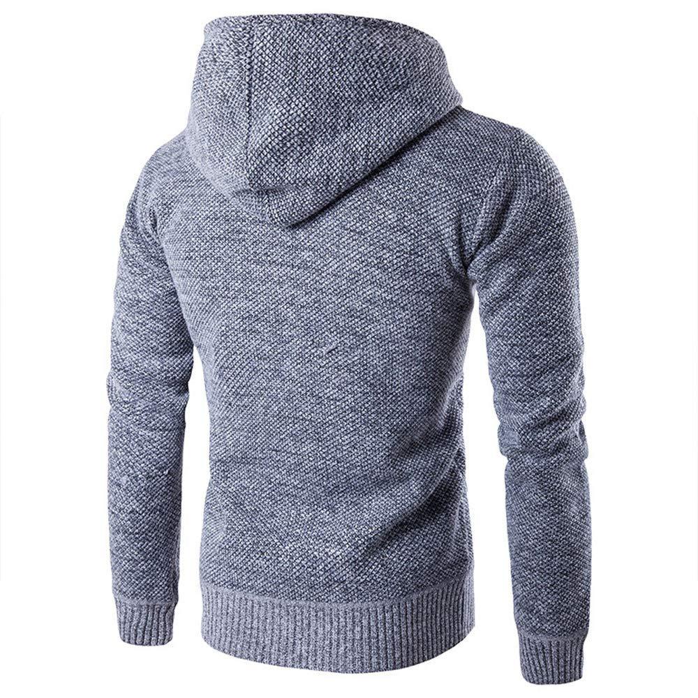 Mens Autumn Winter Long Sleeve Casual Hoodie Pullover Fleece Outwear Tops PASATO New Hot!