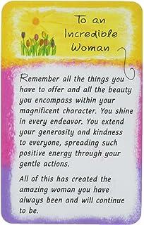Blue mountain arts classic greeting card you are one of the blue mountain arts wallet card to an incredible woman wl564 m4hsunfo