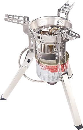 6800 W 3 quemadores Estufa de gas portátil estufa plegable ...