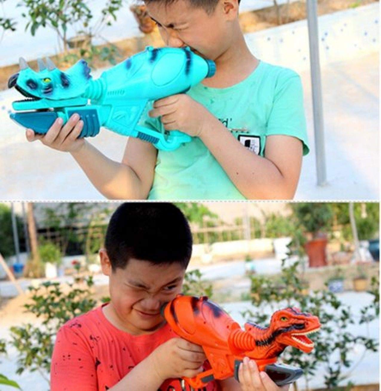 5billion Holiday Fashion Plastic Beach Outdoor Shooter Toys Dinosaur Water Gun Summer Pools Super Cannon Water Kid Toys by 5billion (Image #3)