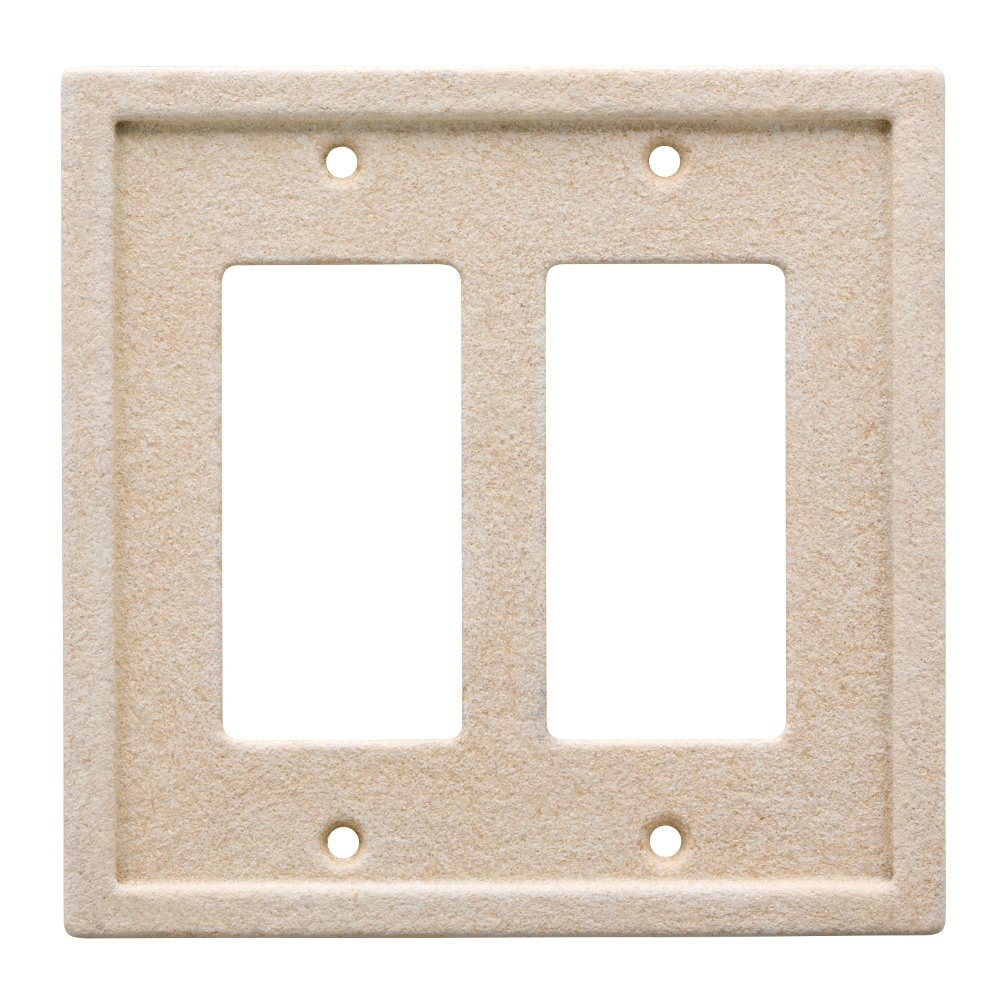Franklin Brass W30358-346-C Faux Stone Wall Plate/Switch Plate/Cover Liberty Hardware