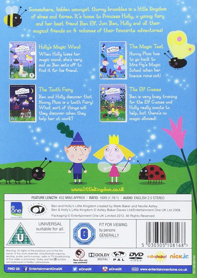 Amazon.com: Ben And Holly\'s Little Kingdom: The Magic Collection ...