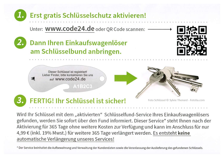 """Schlüsselschutz inkl Einkaufswagenchip Metall SMILEY /""""Fußballkönig/"""" 1 Stück"""