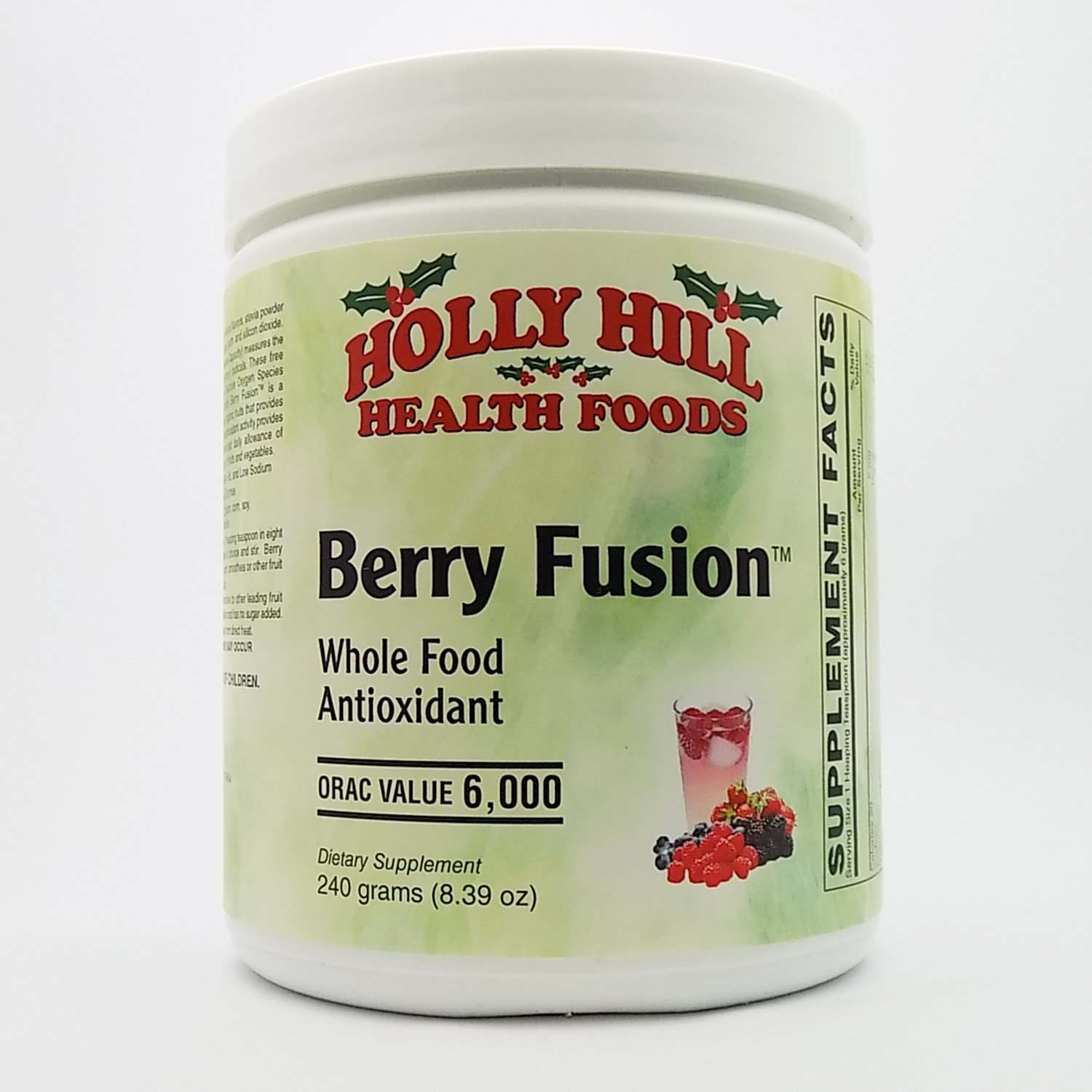 Amazon.com: Holly Hill Salud Alimentos, Berry Fusion ...