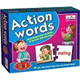 Creative Educational Aids P. Ltd. Action Words Puzzle (Multi-Color)