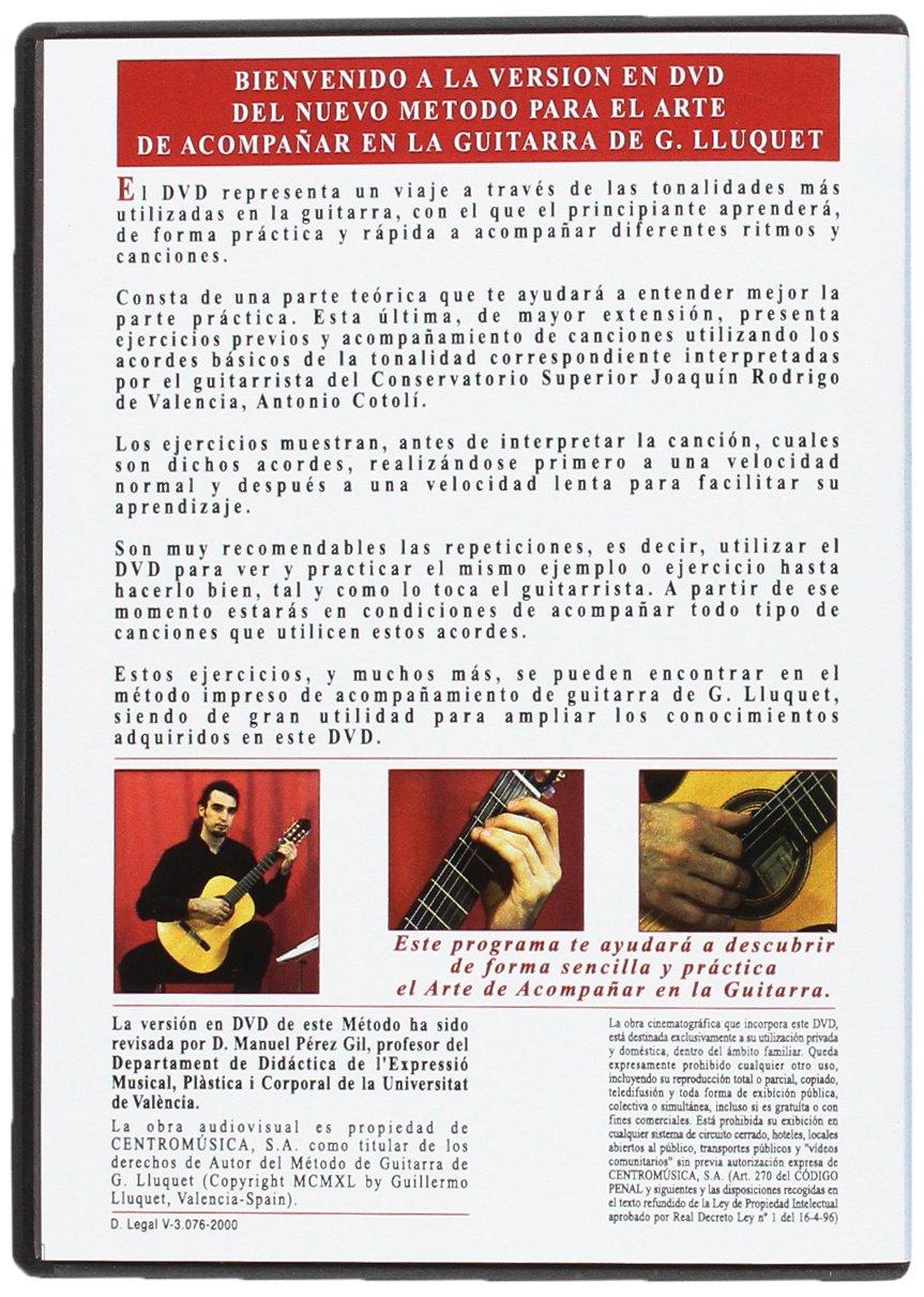 G.Lluquet 8B12D - DVD de guitarra (complemento del metodo guitarra Lluquet): Amazon.es: Instrumentos musicales