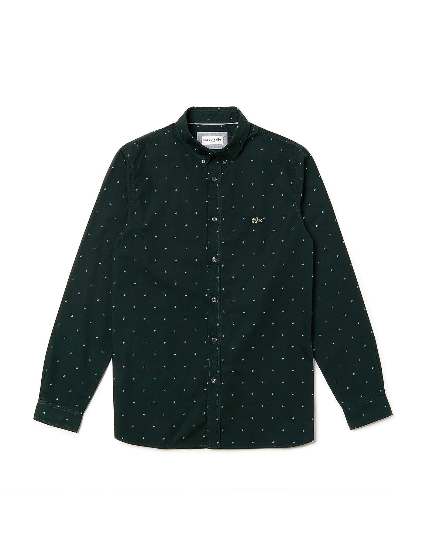 Lacoste Ch0001 Camisa, Blanco (Blanc/ROI 3nx), Small (Talla del ...