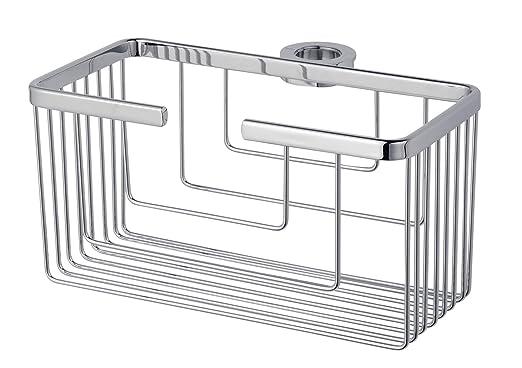 Kibath 131614 Portagel cesta de ducha y bañera sin taladros, 25cmx13cmx12cm