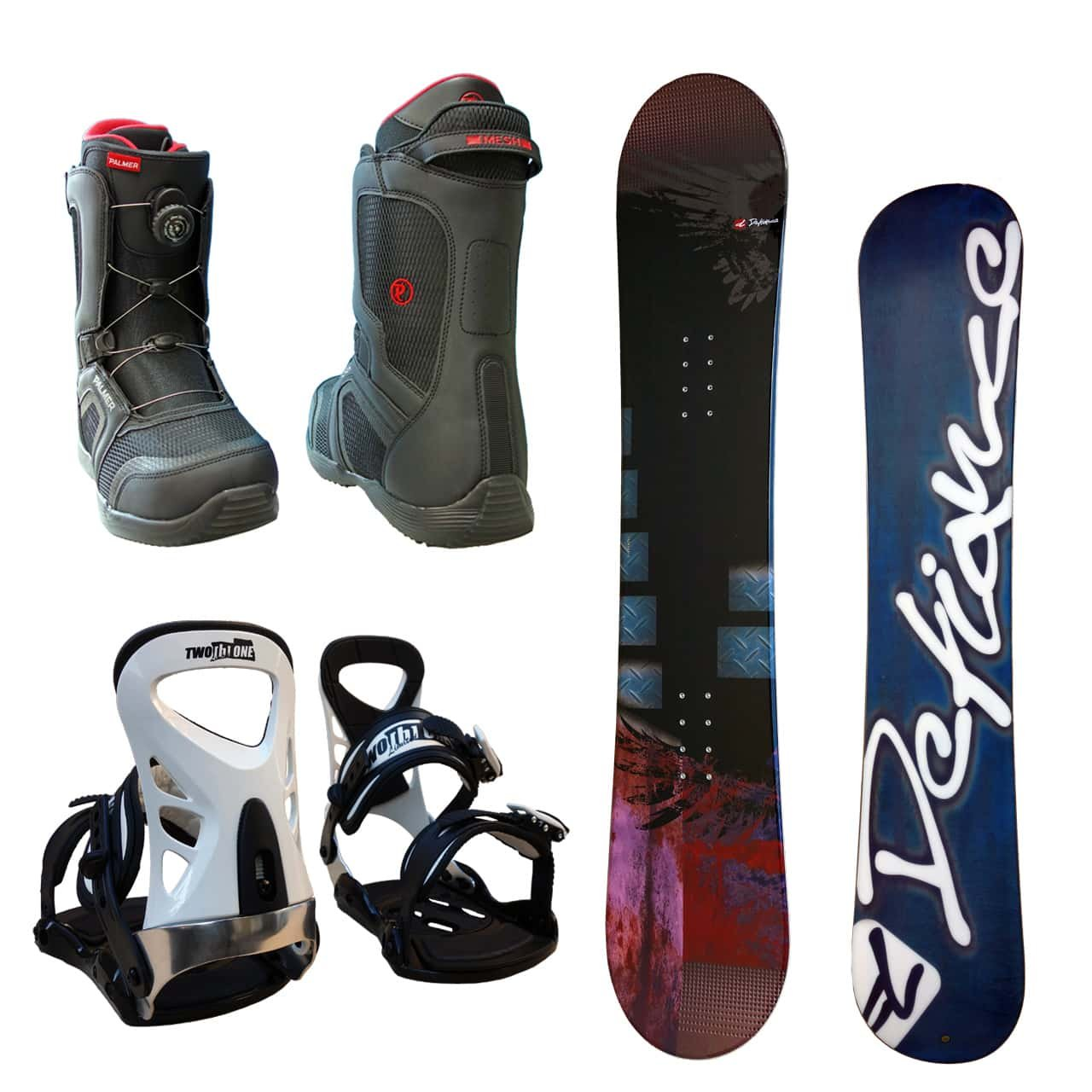 DEFIANCE メンズ スノーボード3点セット スノボー+バインディング+ダイヤル式レースブーツ B078ZYX615 ボード 152+ブーツ 26.5|ボード ワイン+binding ツートン+bootsブラック ボード ワイン+binding ツートン+bootsブラック ボード 152+ブーツ 26.5