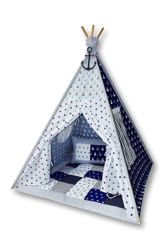 Amilian Tipi Spielzelt Zelt für Kinder T06 (Spielzelt mit