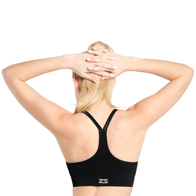 d4e02abc71 Amazon.com  Zensah Super Sports Bralette – Athletic Sport Bra ...