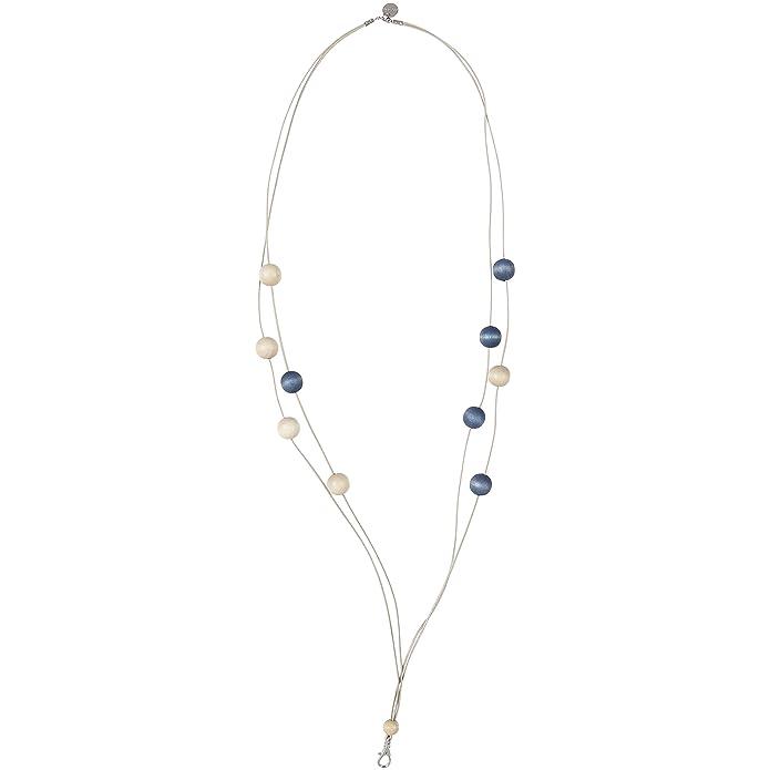 aarikka NOKKELA Lanyard/Kette für Anhänger, 104 cm lang, beige/blau
