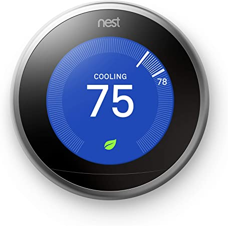 Google, T3007ES, Nest Learning Thermostat, 3rd Gen, Smart Thermostat