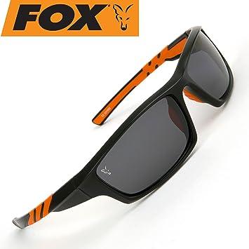 50042fb5301 Fox Black   Orange Frames Grey Lens Sunglasses (csn039)  Amazon.co ...