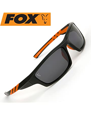 77d0d780d6 Fox Black   Orange Frames Grey Lens Sunglasses (csn039)
