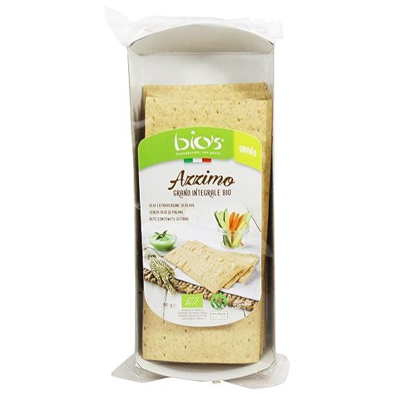 Delizioso Shop - Pan ázimo Integral de Trigo Entero Bio - con Aceite de Oliva Extra