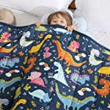 HAOWANER Minky Kids Weighted Blanket 7lbs 41 x 60 inches, Soft Kids and Toddler Comforter Great for Calming and Sleeping, Chi