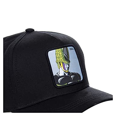 Collabs Gorra Dragon Ball Z Cell Negro OSFA (Talla única para Todos sexos): Amazon.es: Ropa y accesorios