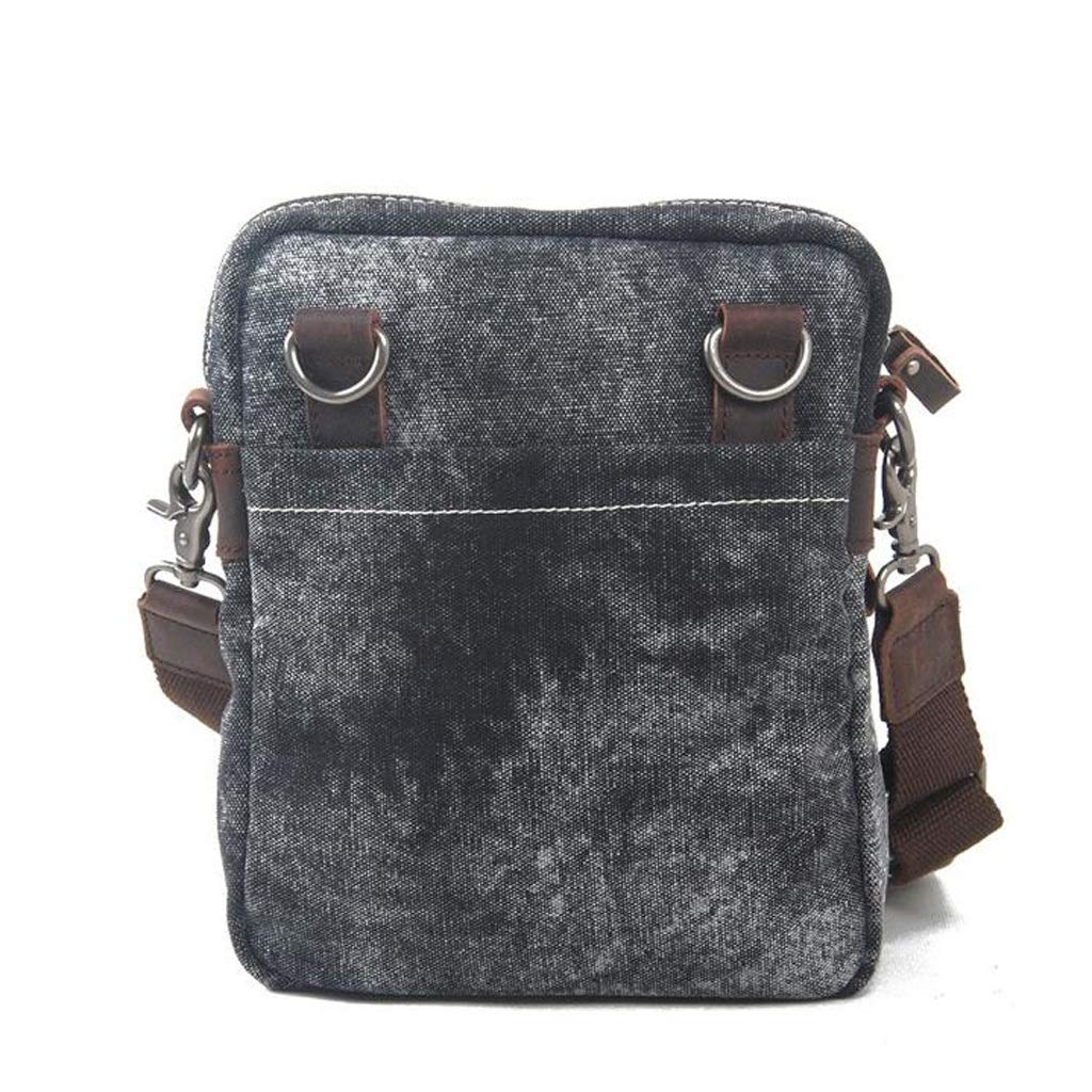 LWH) Mens Shoulder Messenger Bag Fashion Canvas Ethnic Style Daily Leisure Bag Suitable For Work academy 8.663.1411.4 Inch