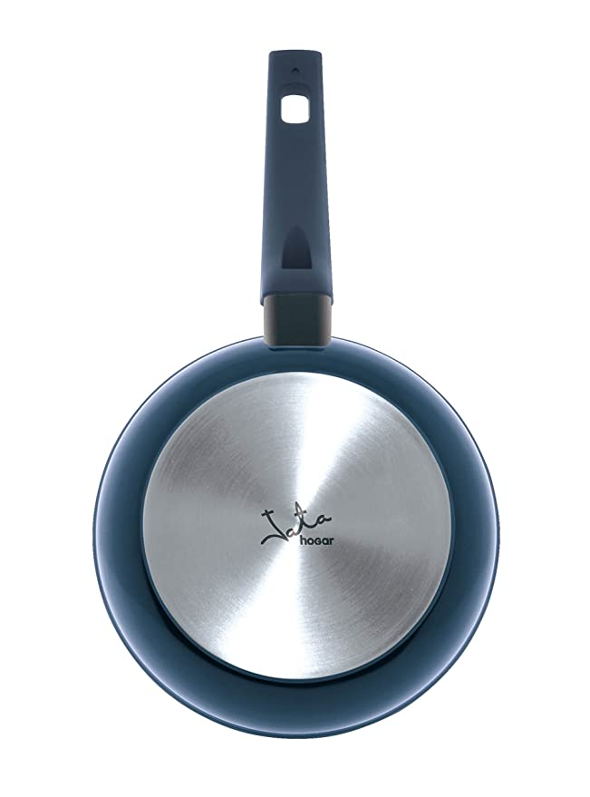 Jata Hogar Sartén, Aluminio Forjado, Azul, 24 cm