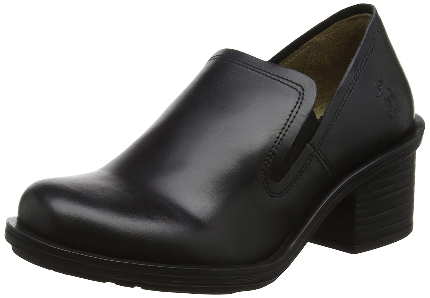 FLY London Pumps, Damen Coby087fly Pumps, London Schwarz Schwarz (schwarz) da3050