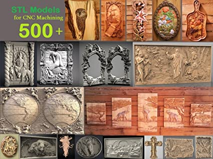500+ PCS 3D STL Models Collection for CNC Router Carving Machine Printer  Relief Artcam Aspire Cut3D | Attention (NO DISC, only Fast Delivery on Your