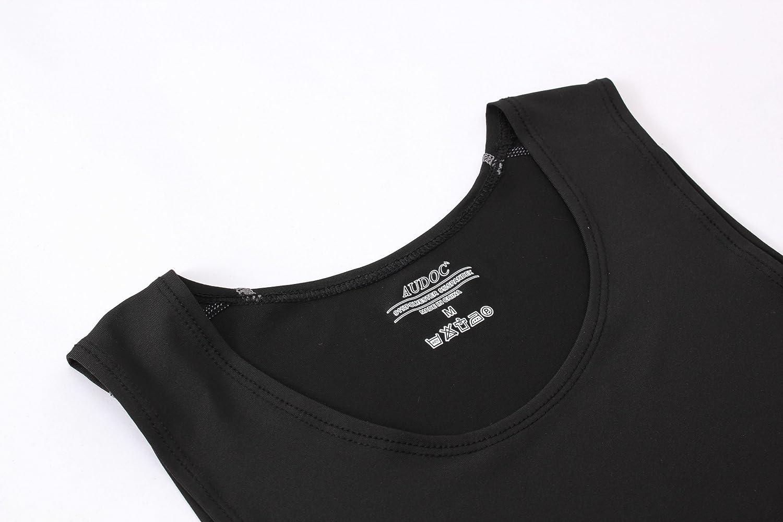 Eyark Herren Kompressionsshirt Kurzarm Cool Dry Athletic