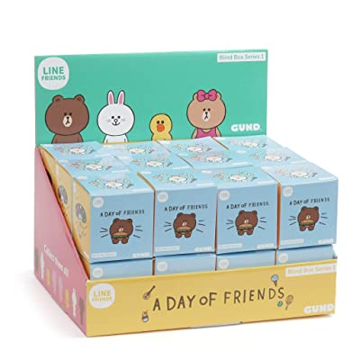 GUND Line Friends Blind Box Series 1: Toys & Games