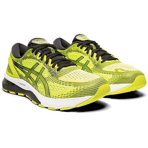 b639480d Asics Gel-Nimbus 21, Zapatillas de Running para Hombre, Amarillo (Safety  Yellow