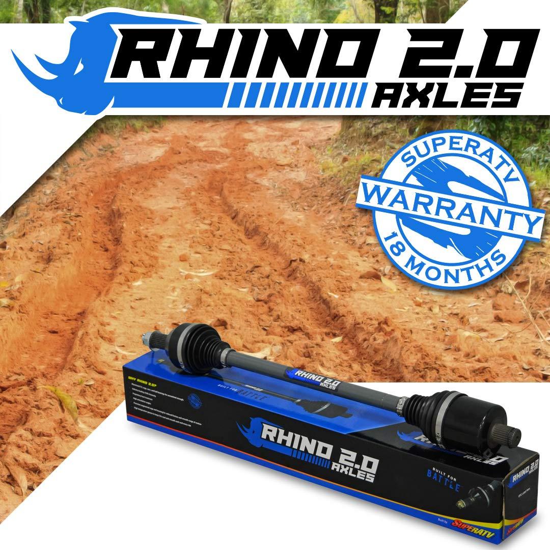 SuperATV Heavy Duty Rhino 2.0 Stock Length Axle for Polaris RZR XP 1000 Trails and Rocks Edition - REAR 2017+ AZ