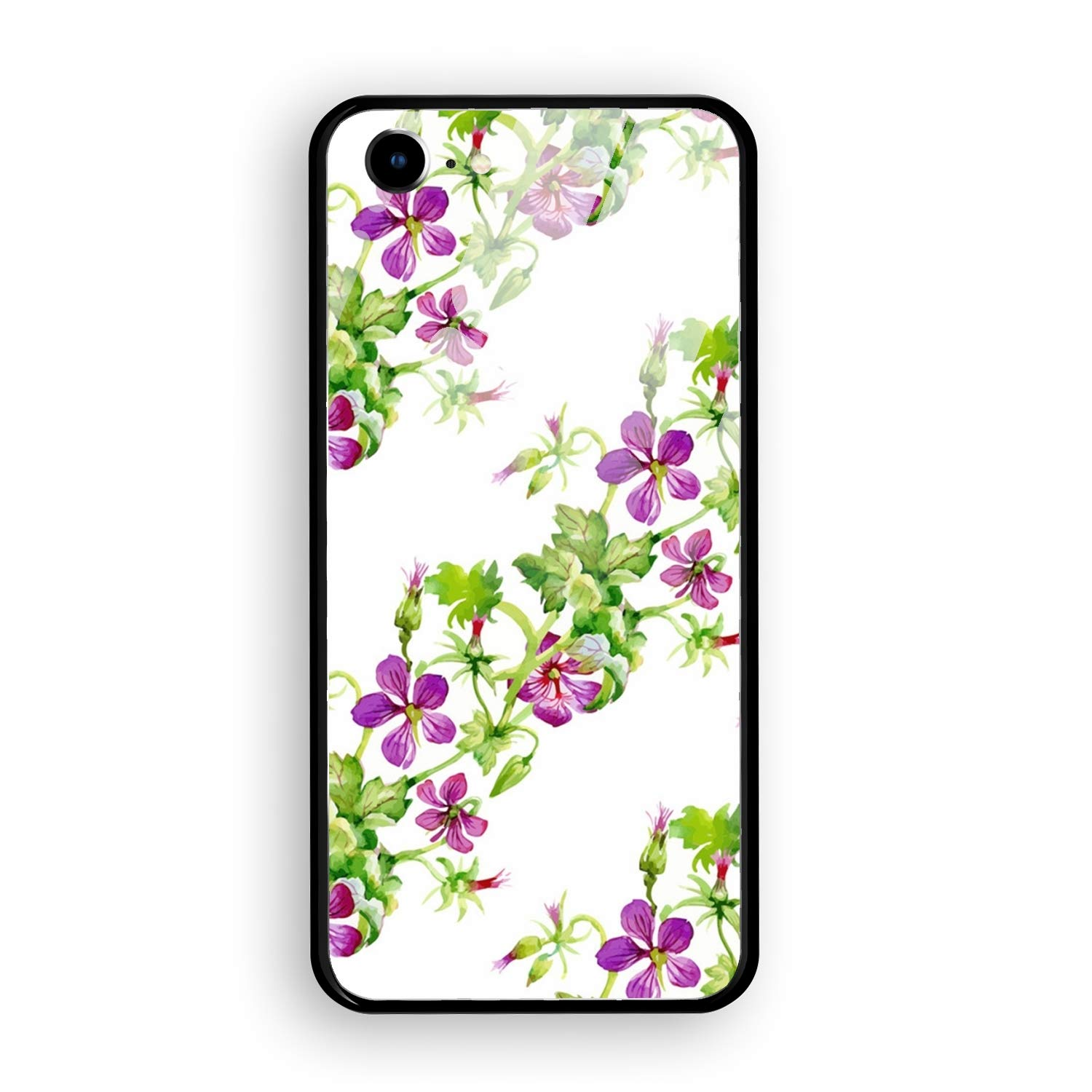 Amazon Com Floral And Decorative Background Design Iphone 7 Case