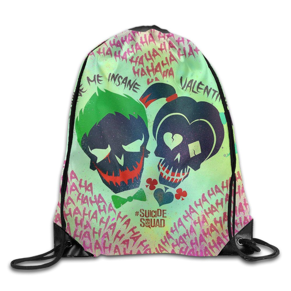 AGMPO Suicide Squad Drawstring Backpacks Sack Bags 50%OFF