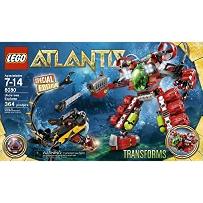 Lego Atlantis 8080 Undersea Explorer - 364 pieces: Toys & Games
