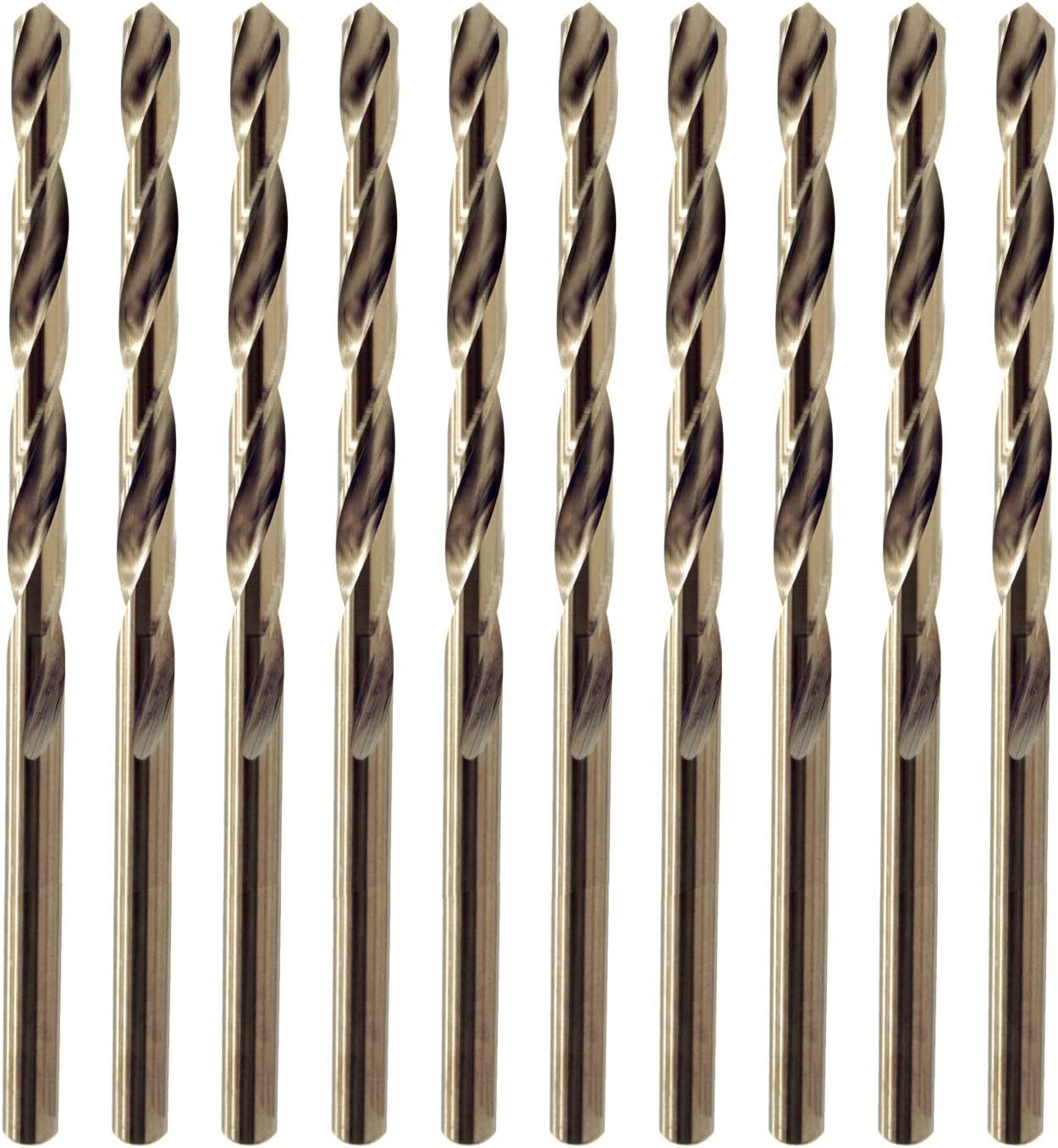 Pièce 10 3,0 mm métrique HSS Jobber Drill Bit-pour Métal Acier Bois-Aluminium