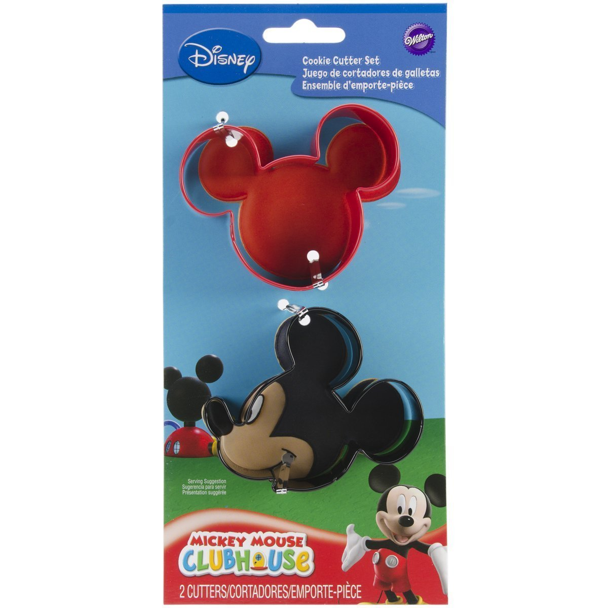Mickey Mouse Cookie Cutters Fish Extender Gift Idea