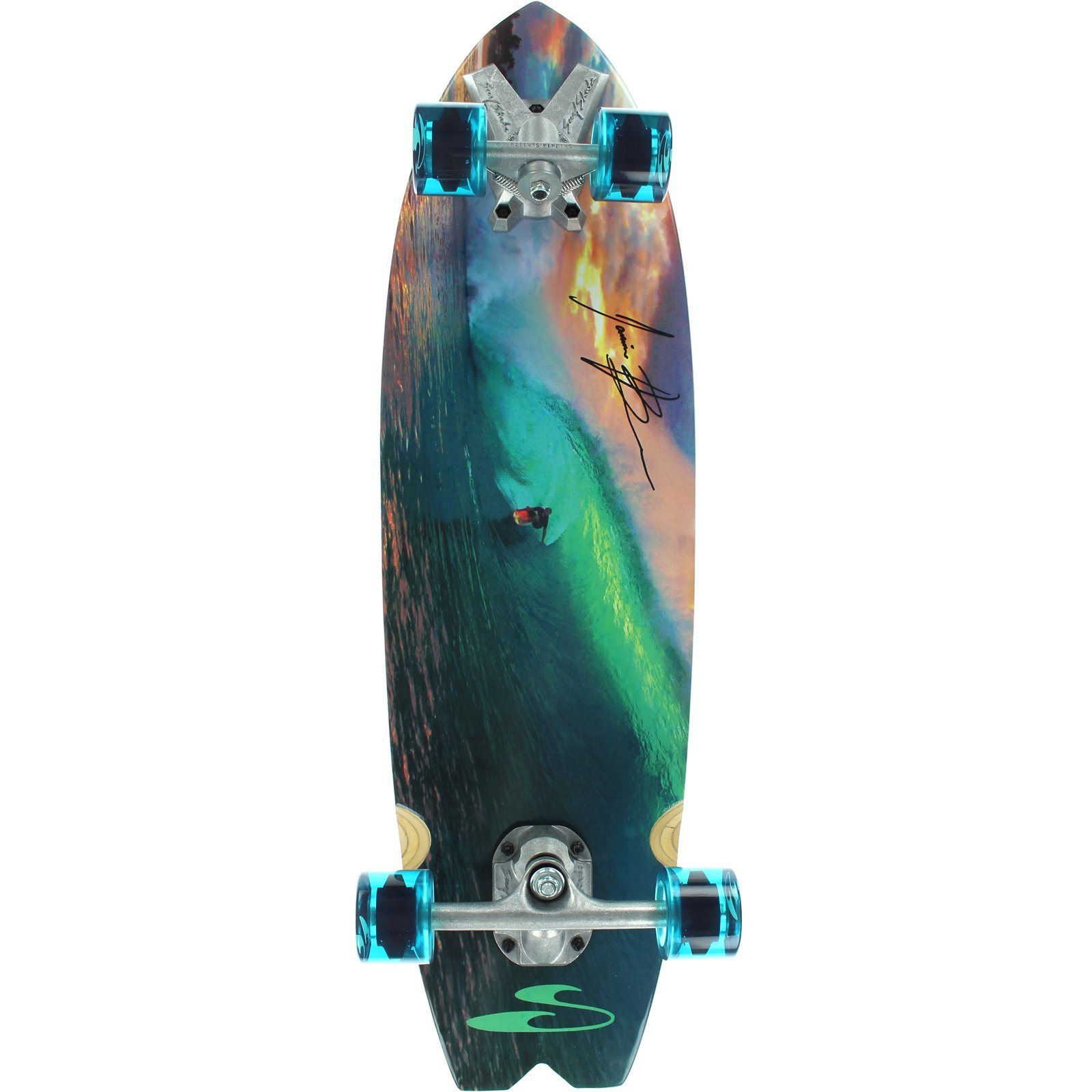Surfskate Jamie O'Brien Complete Skateboard -9.6x34 by Surfskate