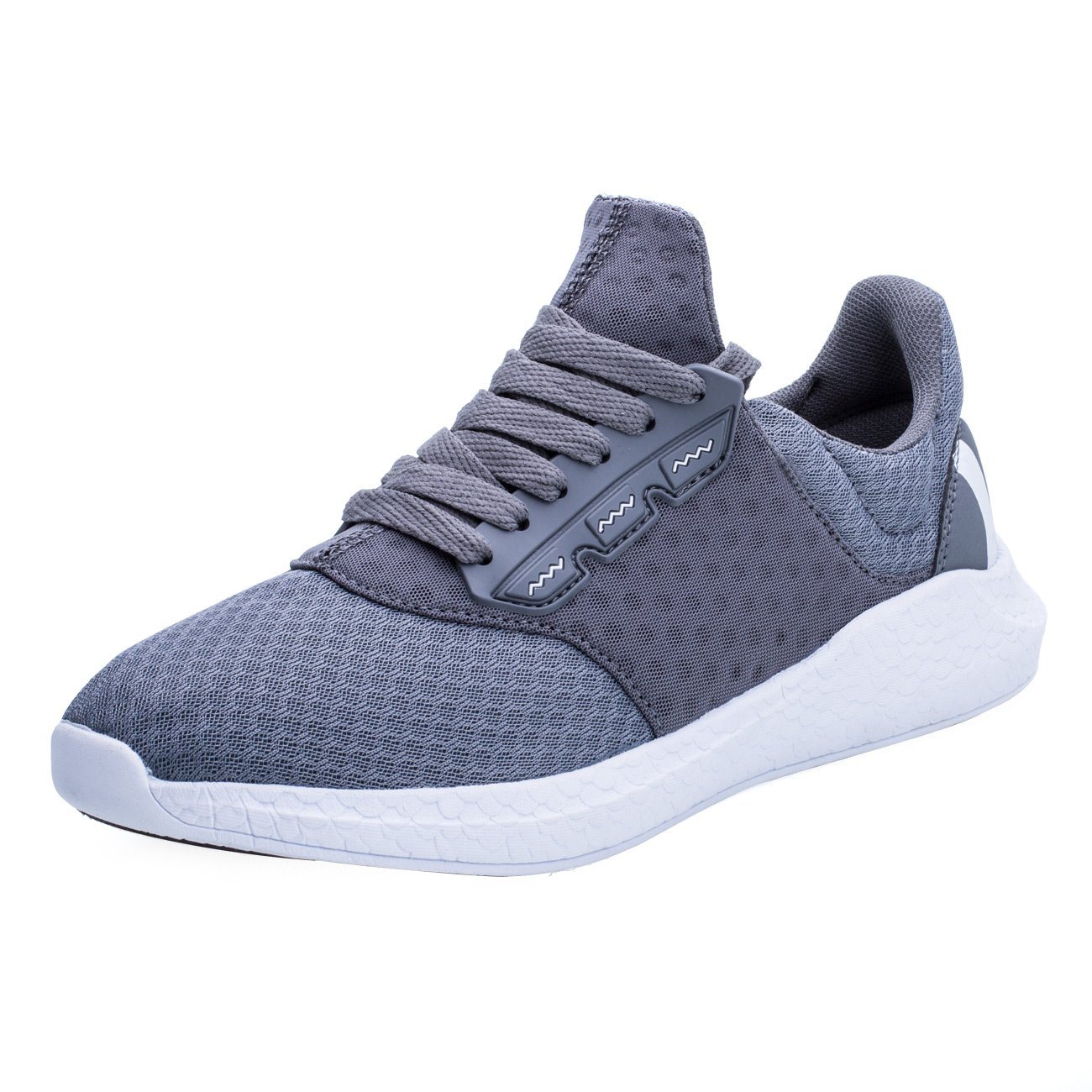 Keezmz Mens Breathable Comfortable LaceUp Running Shoes Walk Outdoor Exercise Athletic Sneakers  B075TYG3RH