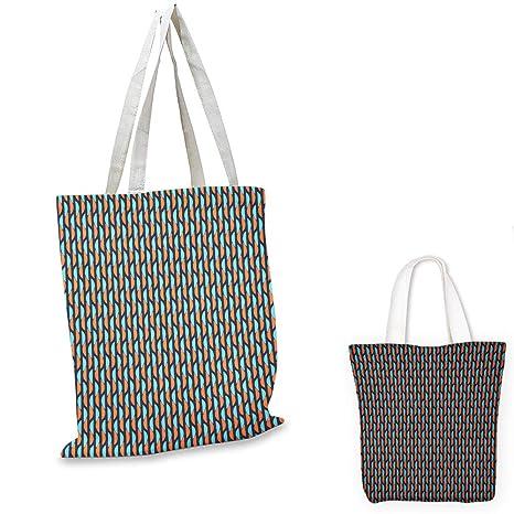Amazon.com: Bolsa de la compra portátil geométrica con ...