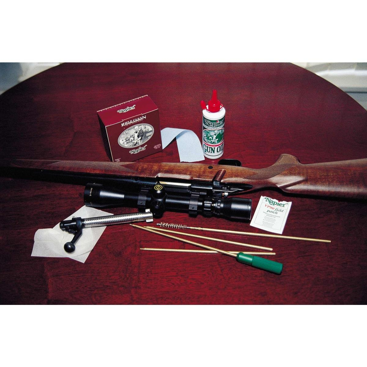 Napier Rifle Cleaning Kit (.22 Brushes) by Napier