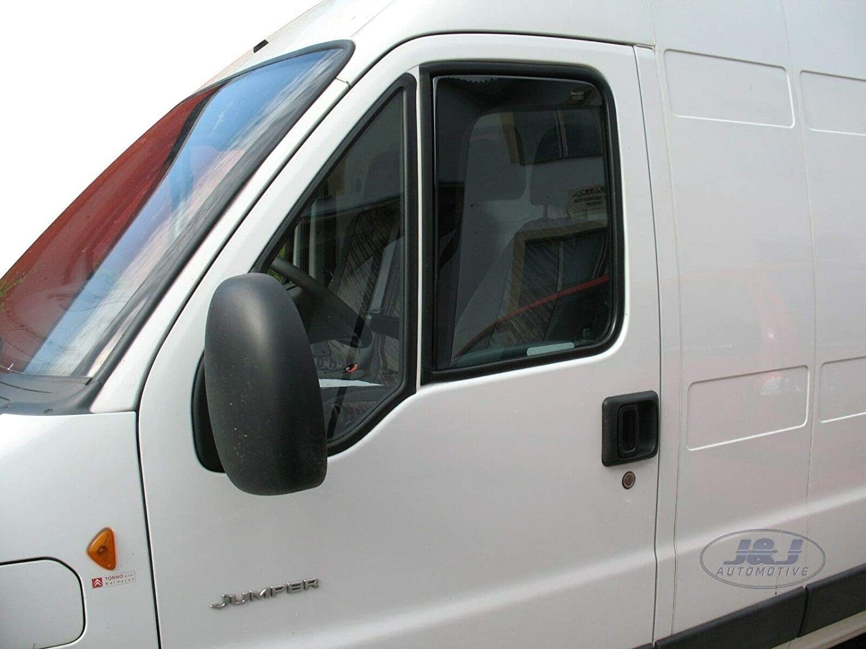 Deflecteurs dair d/éflecteurs de Vent Compatible avec Pajero Wagon 2002-2015 4 pi/èces J/&J AUTOMOTIVE